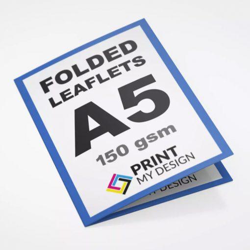 A5 Folded Leaflets (Eco) - 150gsm