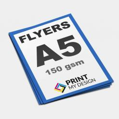A5 Flyers on Print My Design - Professional Print Services Manchester, Leaflets Printing Stockport, design flyers