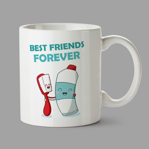 Personalised Mugs - Best friends forever