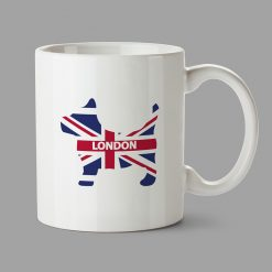 Personalised Mugs - London dog
