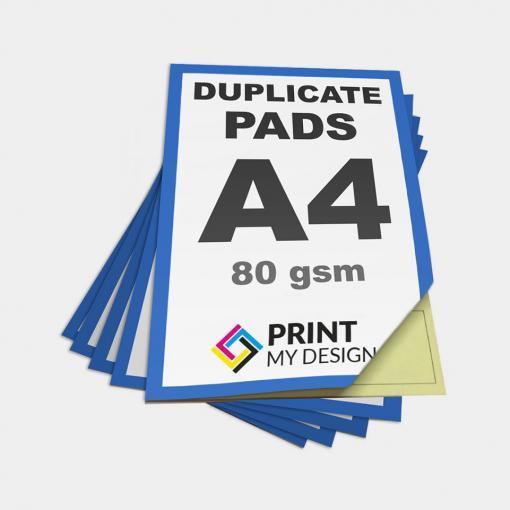 A4 Duplicate NCR Pads
