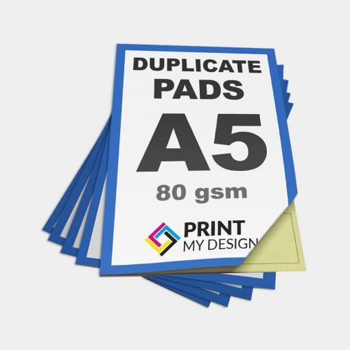 A5 Duplicate NCR Pads