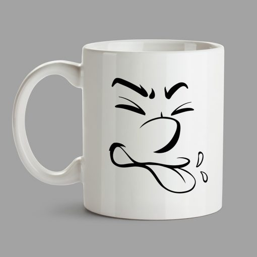 Personalised Mugs - Tongue, joker