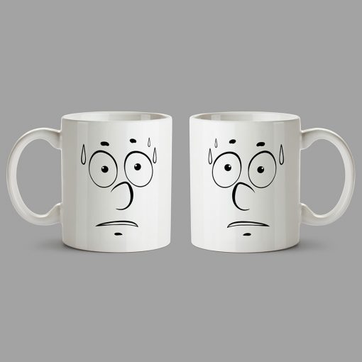 Personalised Mugs - It's a hot, sweaty face