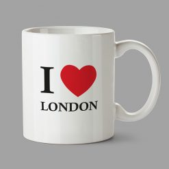 Personalised Mug - I love London mug, Personalised gifts, graphic design