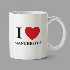 Personalised Mugs - I Love Manchester mug
