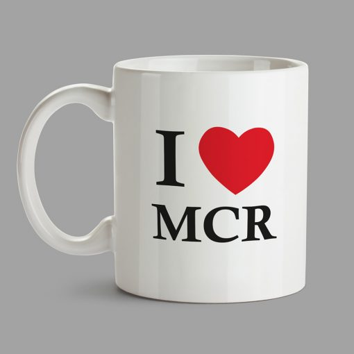 Personalised Mug - I Love MCR