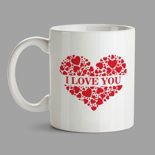 Personalised Mug - I Love You