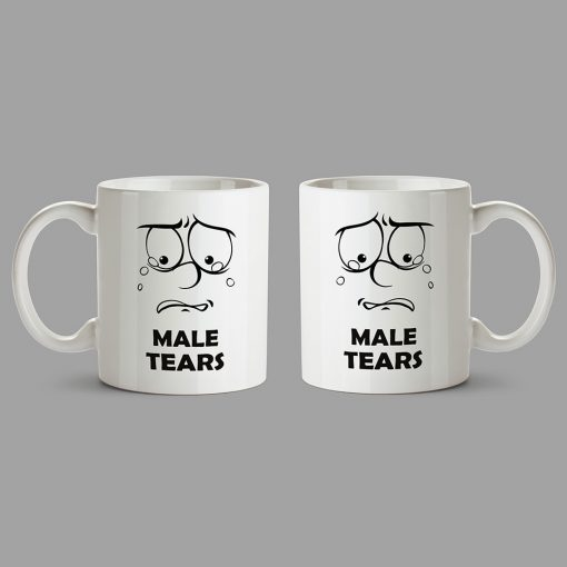 Personalised Mugs - Male Tears