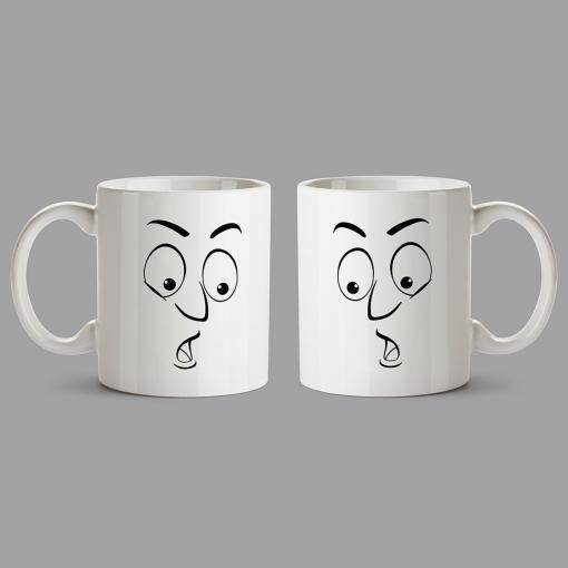 Personalised Mugs - Surprised face