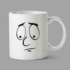 Personalised Mugs - Sad face