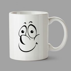 Personalised Mugs - Happy face