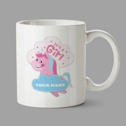 Personalised Mug - Unicorn mug - It's a girl