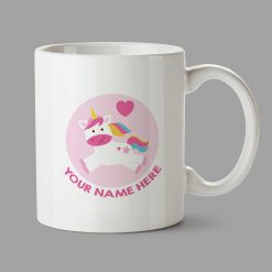 Personalised Mug - Unicorn mug with your name