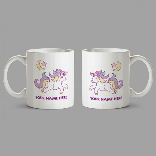 Personalised Mug - Unicorn mug with your name