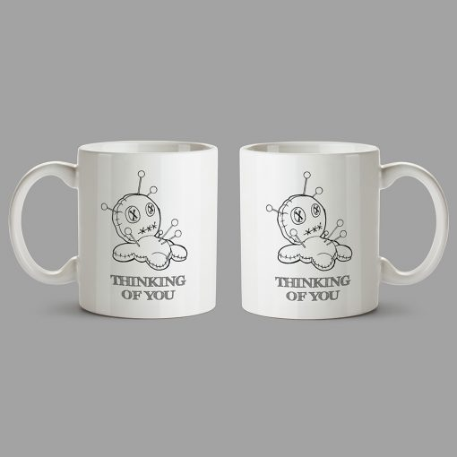 Personalised Mug - Voodoo doll - Thinking of you