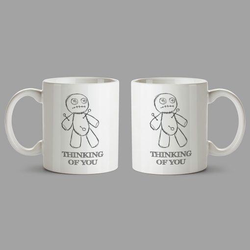 Personalised Mug - Voodoo doll - Thinking of you
