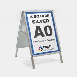 A0 Silver A-Board