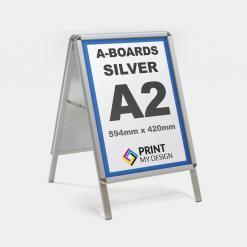 A2 Silver A-Board