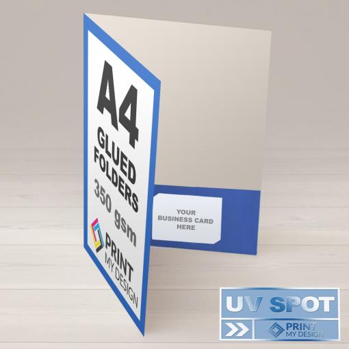 A4 Glued Folders