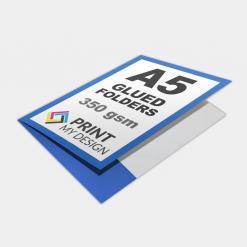 A5 Glued Folders
