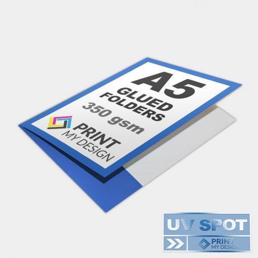 A5 Glued Folders (UV)