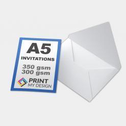 A5 Invitations