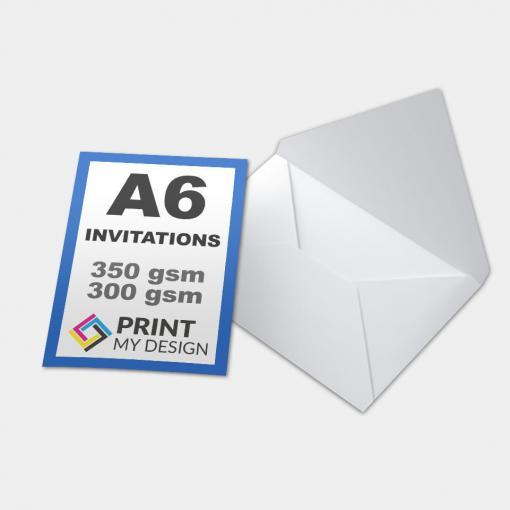 A6 Invitations