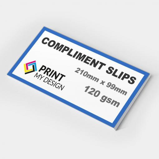 Compliment Slips (120gsm)