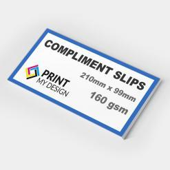 Compliment Slips (160gsm)