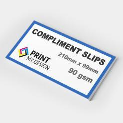 Compliment Slips (90gsm)