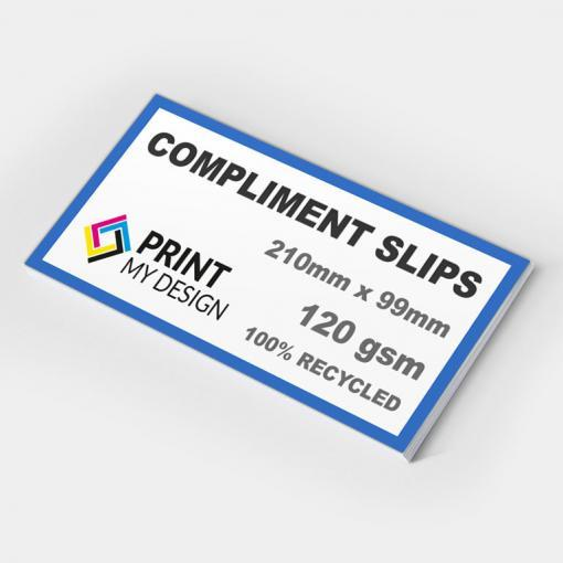 Compliment Slips (Recycled)