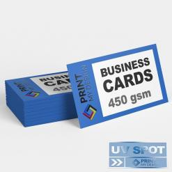 UV Spot Business Cards print online - design online business cards
