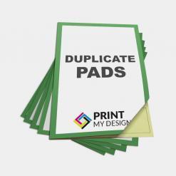 Duplicate NCR Pads