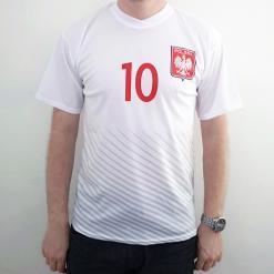 Polish Football Team T-Shirt - 10 Krychowiak - Adult