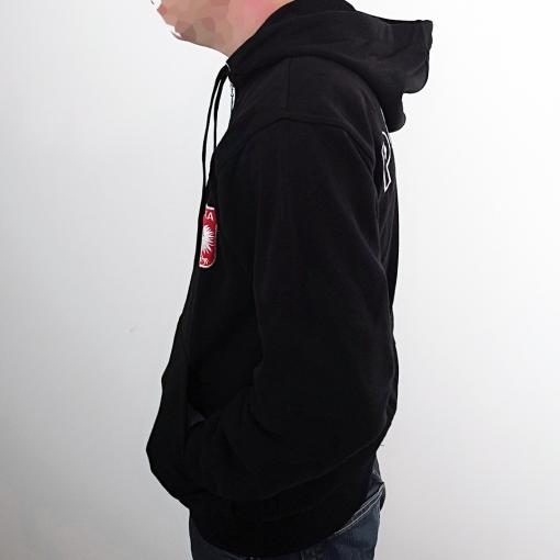 Polish Football Team - Black Hoodie - Adult
