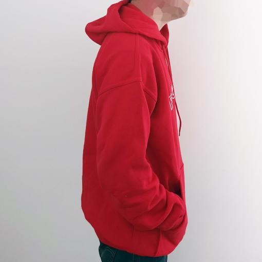 Polish Football Team - Red Hoodie - Adult