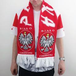 Polish Football Team Scarf - Adult