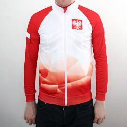 (1) Polish Football Team Full Zip Sweatshirt - Adult