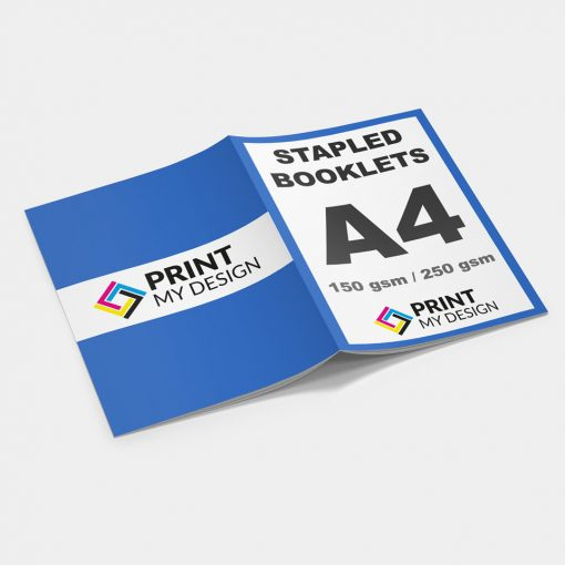 A5 Stapled Booklets - Long Edge: 150gsm / Cover: 150gsm