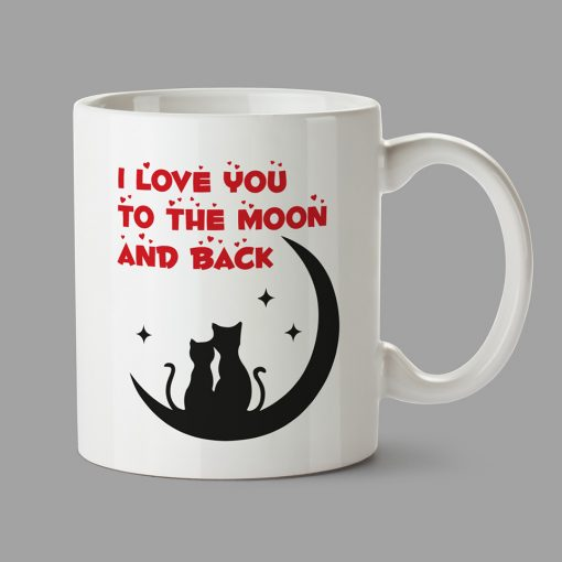 Personalised Mug - I Love you to the moon and back
