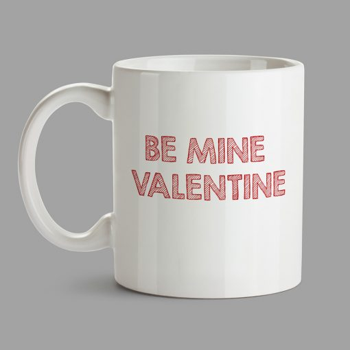 Personalised Mug - Be Mine Valentine