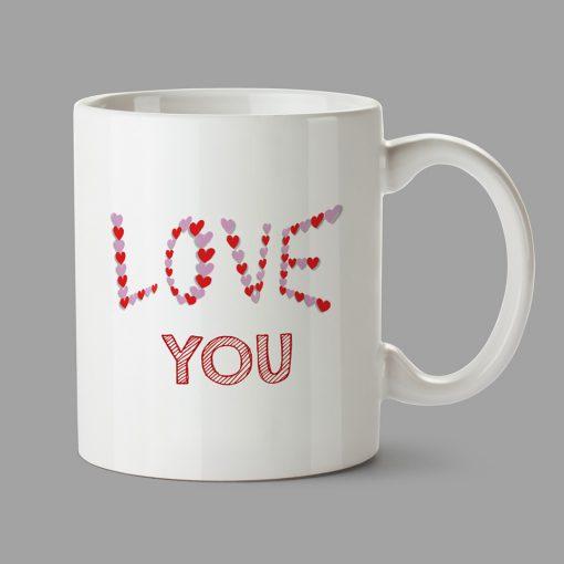 Personalised Mug - Love You - 14 February
