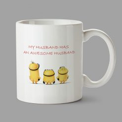 Personalised Mug - My husband has an awesome husband