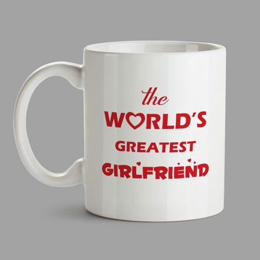 Personalised Mug - The World's Greatest Girlfriend
