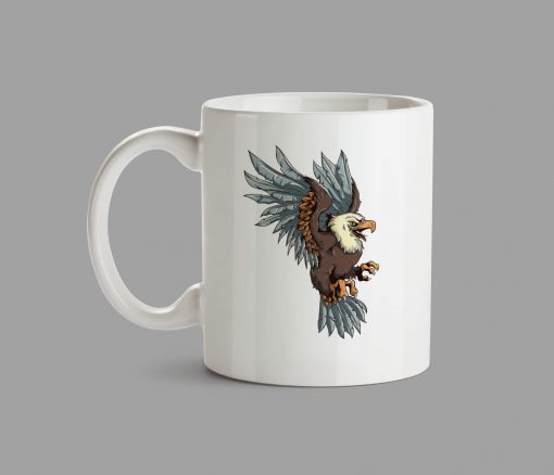 Personalised Mug - Eagle
