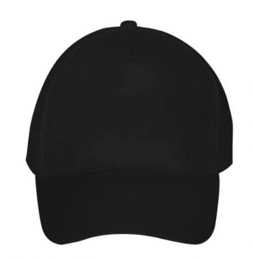 Promotional Caps - Ultimate 5-Panel Personalised Caps - Black