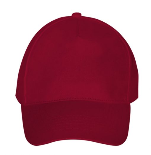 Promotional Caps - Ultimate 5-Panel Personalised Caps - Burgundy
