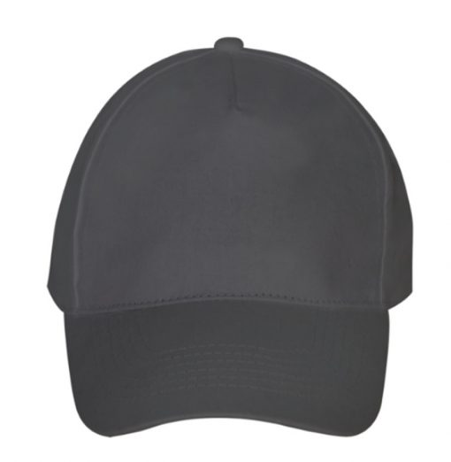 Personalised Company Caps - Graphite Grey